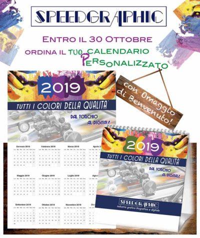 Calendario Con Foto Personali.Speedgraphic Calendario Personalizzato E Omaggio